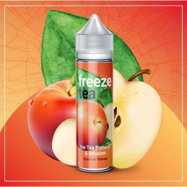 Freeze tea - Black ice tea pomme