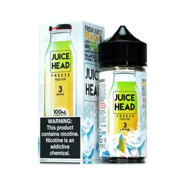 Juice Head freeze Peach pear