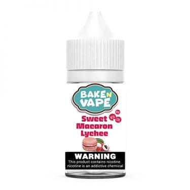 Bake N Vape - Sweet Macaron Lychee