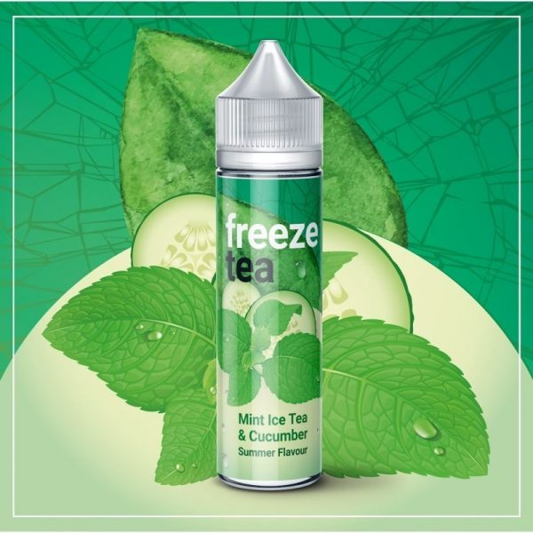 Freeze Tea - Mint Ice Tea Cucumber
