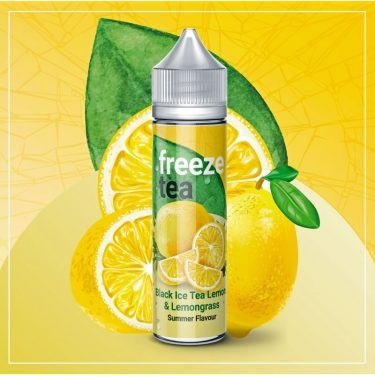 Freeze Tea - Black Ice Tea Lemon and Lemongrass