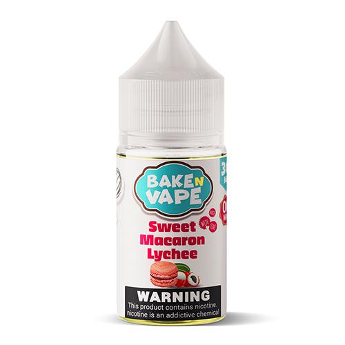 Bake N Vape - Sweet Macaron Lychee 30ml