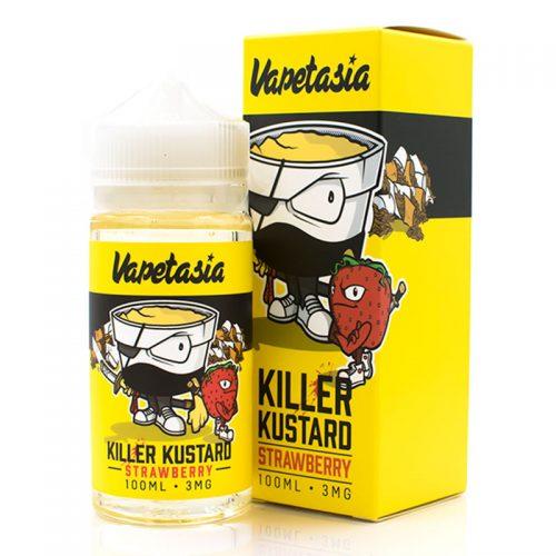 Killer Kustard Strawberry 100ml