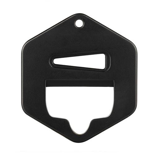 Shortfill cap opener