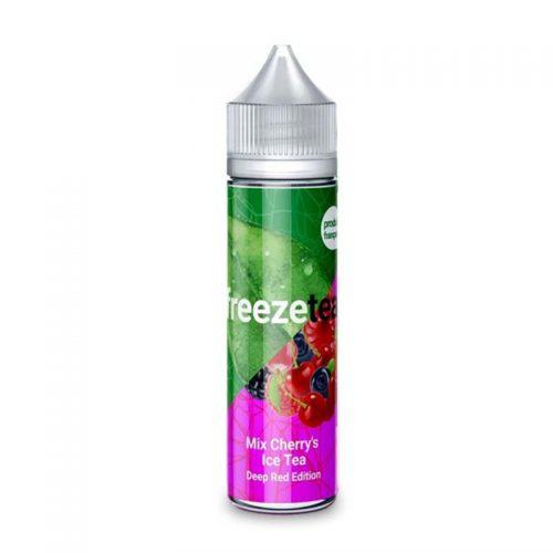 freeze tea mix cherries
