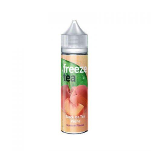 freeze tea peche
